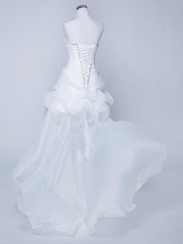elöl rövid hátul hosszú menyasszonyi ruha webshop ár  59.900 Ft a0c9a73ada
