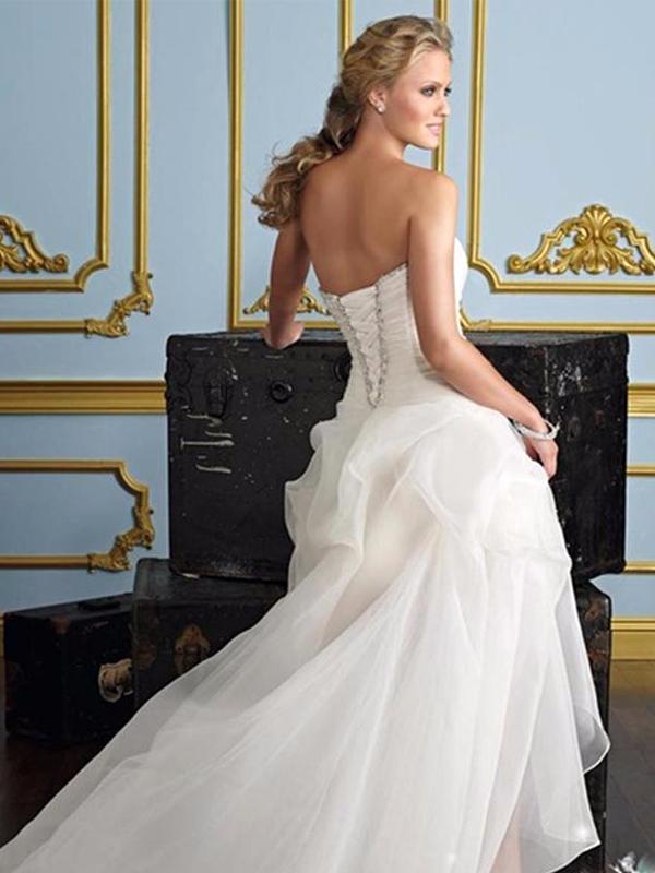 elöl rövid hátul hosszú menyasszonyi ruha webshop ár  59.900 Ft 5ebac7378b