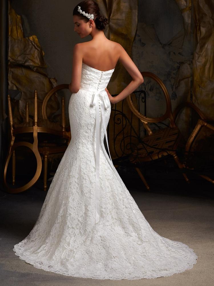 sellő fazonú csipke menyasszonyi ruha webshop ár  69.990 Ft 2f5bf3aca6