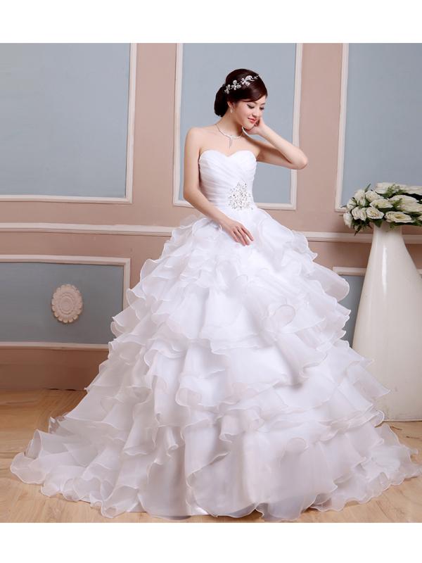 4e7331c73e nagy fodros aljú esküvői ruha webshop ár: 69.900 Ft
